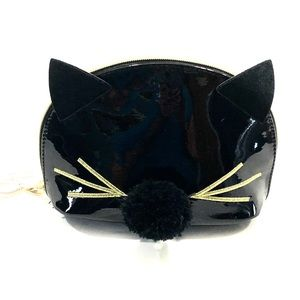 Black Kitty Cat Makeup Bag By Imoshion
